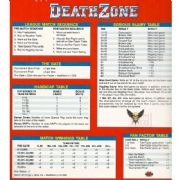 Blood Bowl Deathzone Quick Reference Card